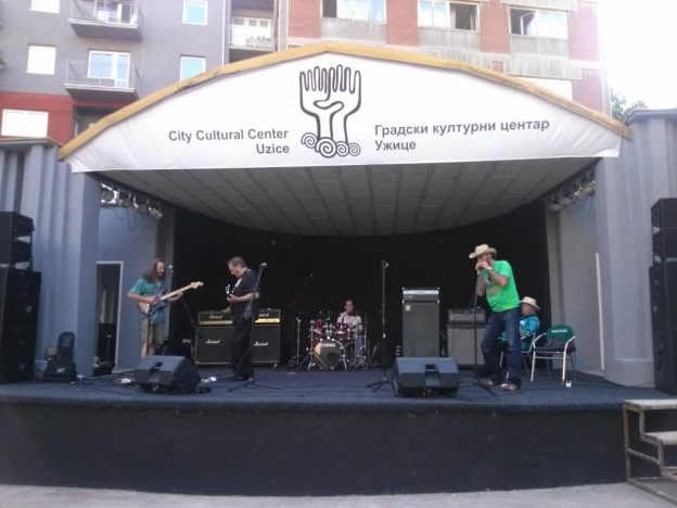 Big Brother & The Holding Co. Soundcheck in Serbia