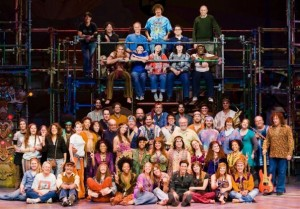 Cast and Crew of Hair @ Arizona Theatre Co